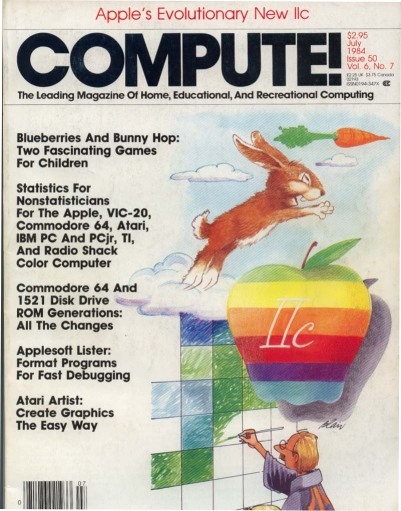 Cover of Compute! Magazine